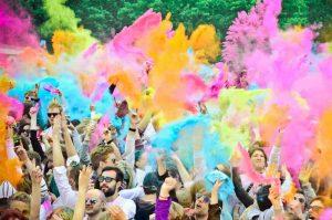 Organize Colour party Holi Festival