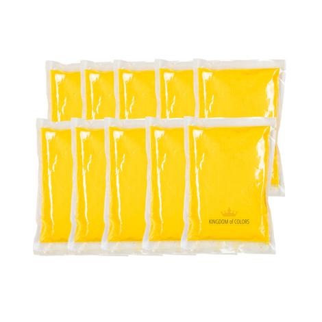coloured powder bags