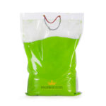 green holi colour powder