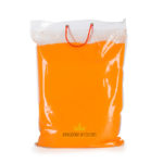 orange holi colour powder