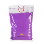 Purple holi colour powder