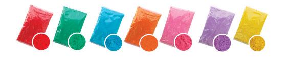 colour powder paint